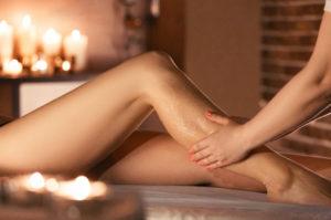 Anwendung: Teilmassage - Rücken oder Beine - im bulabana