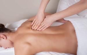 Anwendung: Körpermassage - Rücken, Arme und Beine im  bulabana
